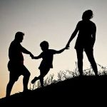 silhouette-family-married
