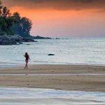 Thailand romance sunset