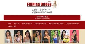 Filipino women dating site - Free registration